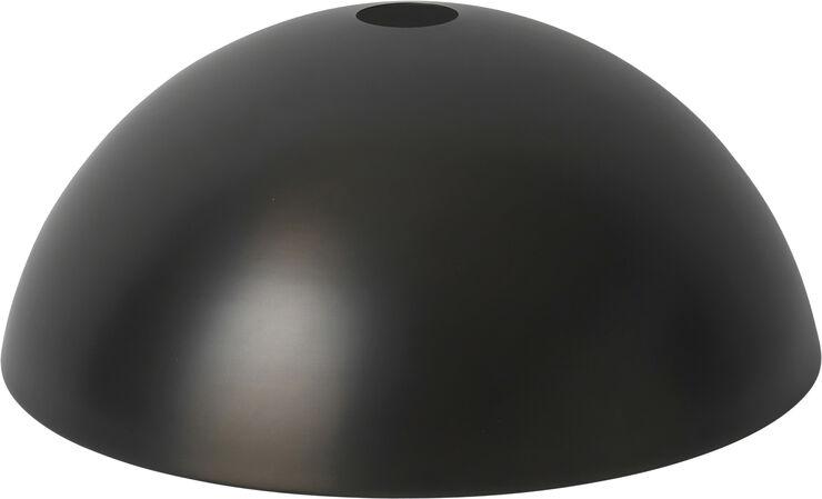 Dome Shade - Black Brass