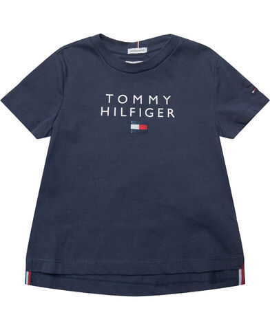 TOMMY SEQUINS TEE S/S
