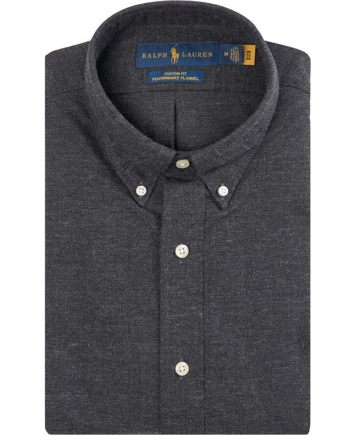 Custom Fit Performance Flannel Shirt