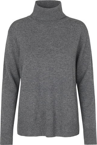 Wool & cashmere pullover ls