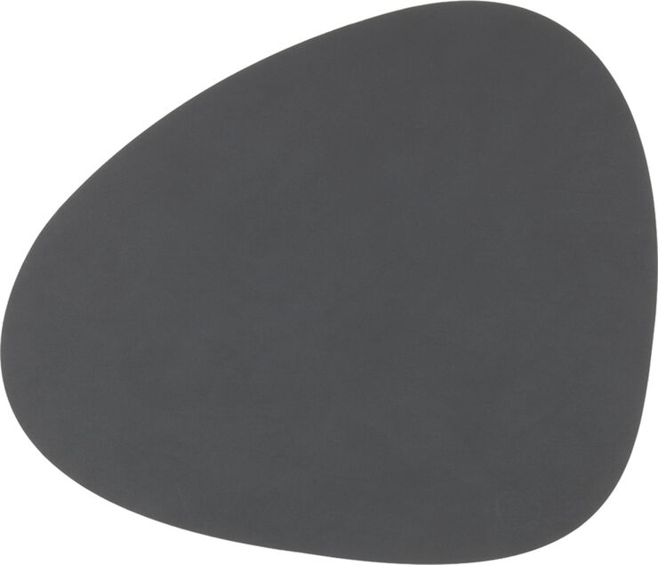 TABLE MAT CURVE L (37x44cm) NUPO anthracite