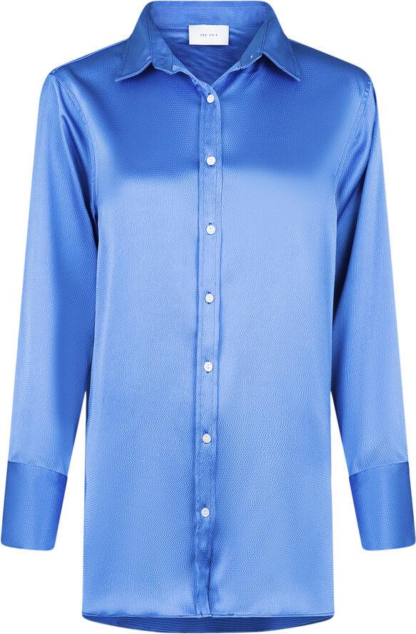 Margit Crepe Satin Shirt