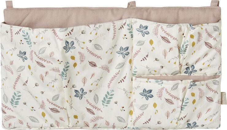 Bed Pocket - OCS Pressed Leaves Rose