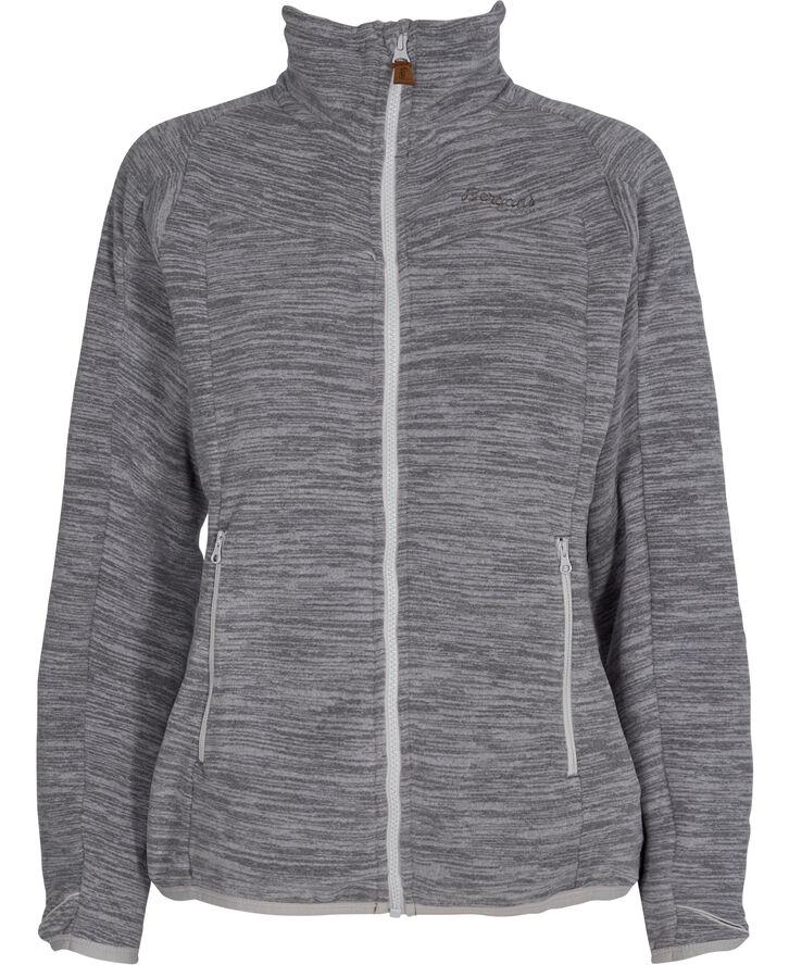 BER W Hareid Fleece NoHood, Aluminum