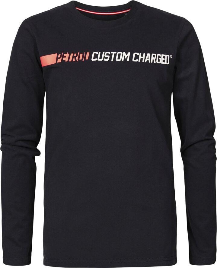Boys T-Shirt LS Round Neck