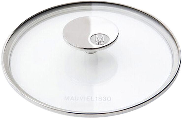 Glasslokk M'360 14 cm Glass/Stål