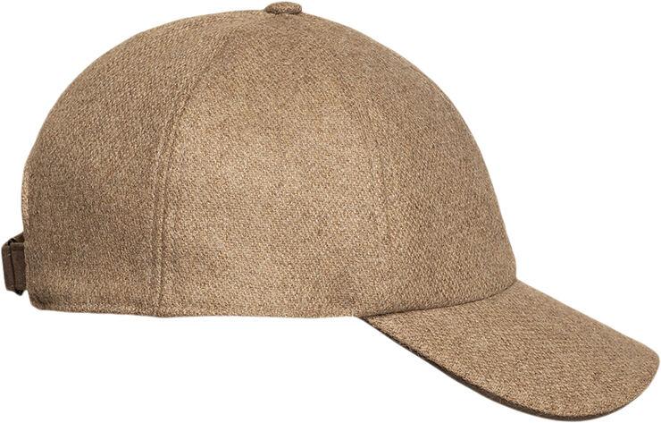 Light Brown Wool Cap