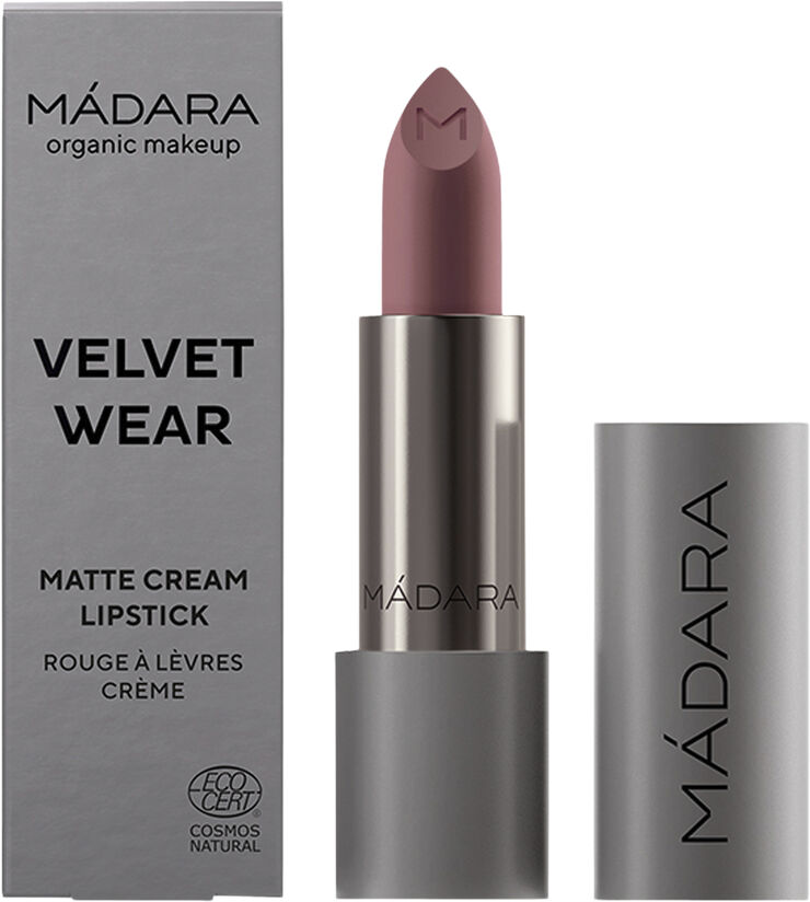 VELVET WEAR Matte Cream Lipstick, #31 COOL NUDE, 3.8g