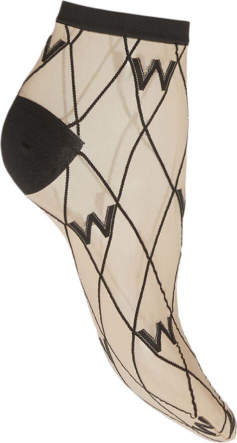 W-Pattern Ankle Socks