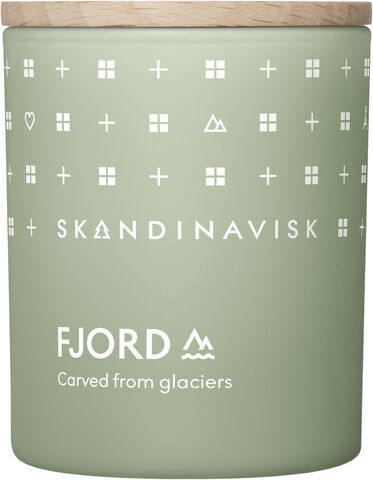 FJORD Scented Candle w Lid 65g