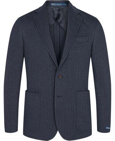Polo Soft Knit Mesh Suit Jacket
