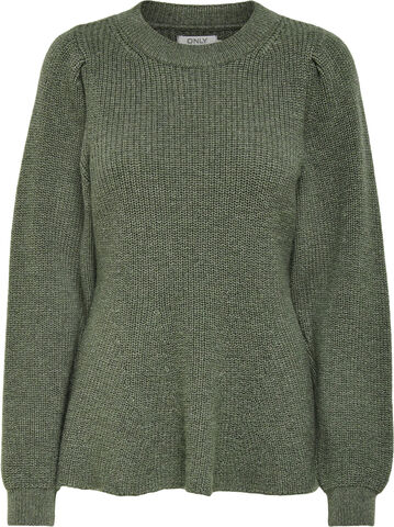 ONLSTACY L/S O-NECK PULLOVER KNT