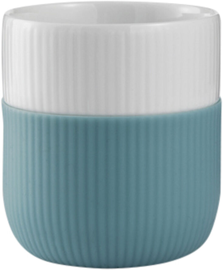 Fluted Contrast mugg Opal 33 cl