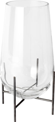 Echasse Vase, S, Clear