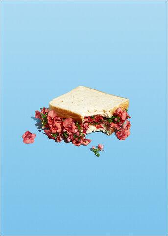 Super Mercat - Flower sandwich A2