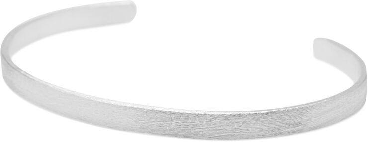Wide alliance bracelet