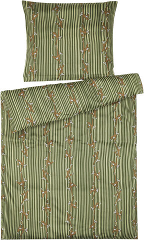 Sengetøj Abe Baby 70x100cm grøn