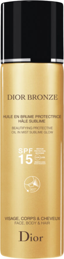 Bronze Protective oil in mist sublime glow SPF 15