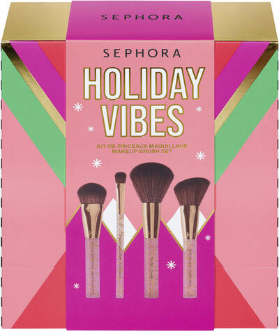 Holiday Vibes - Makeup Brush Set