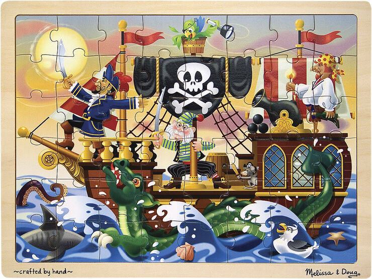 Pirate Adventure Jigsaw 48 pc