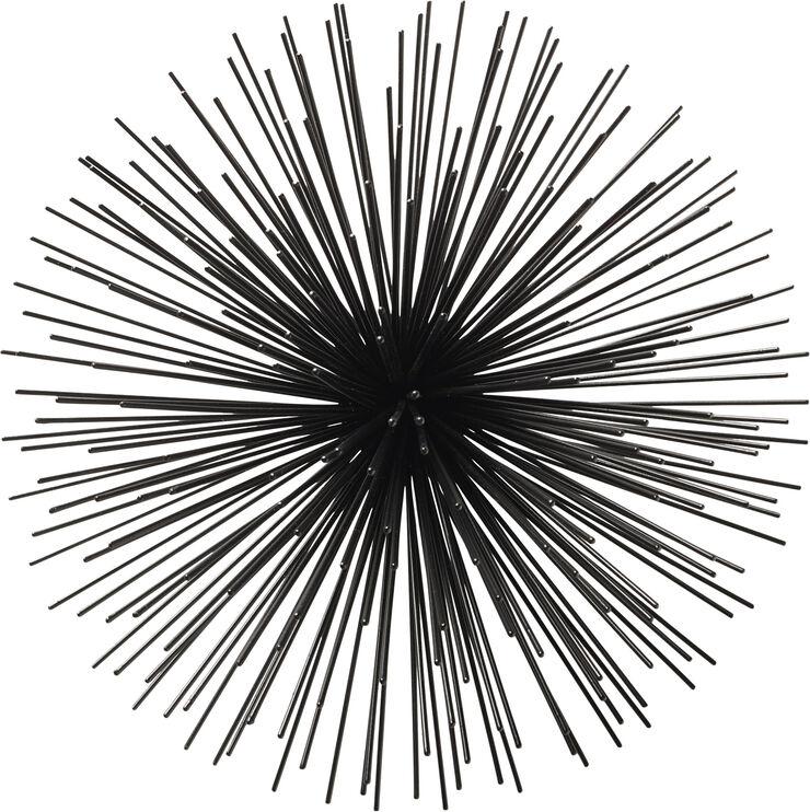 Stardust dekoration Ø27*15 Black