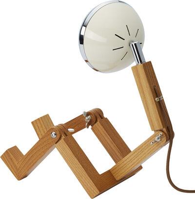 Mini WATTSON Table Lamp, 5V, USB, G4 LED, Ash -  Vintage White