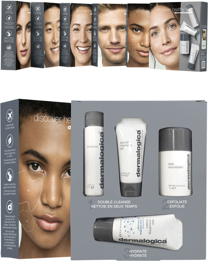 Discover Healthy Skin Kit in limited edition sleeve