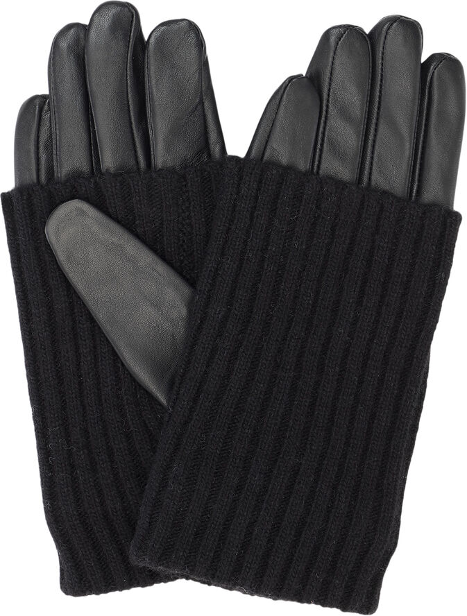 Day Leather Knit Glove