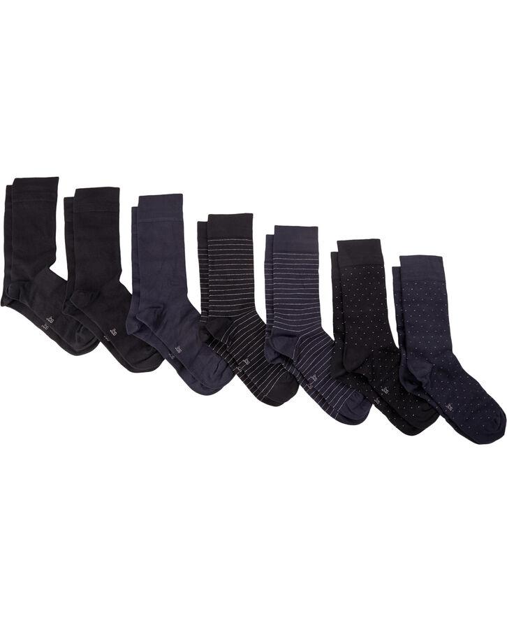 JBS socks bamboo 7 pairs box