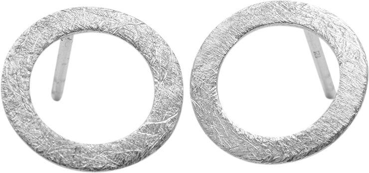 Small open coin earstick