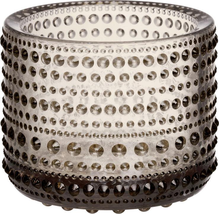 Kastehelmi 6,4 cm lysestage - linen