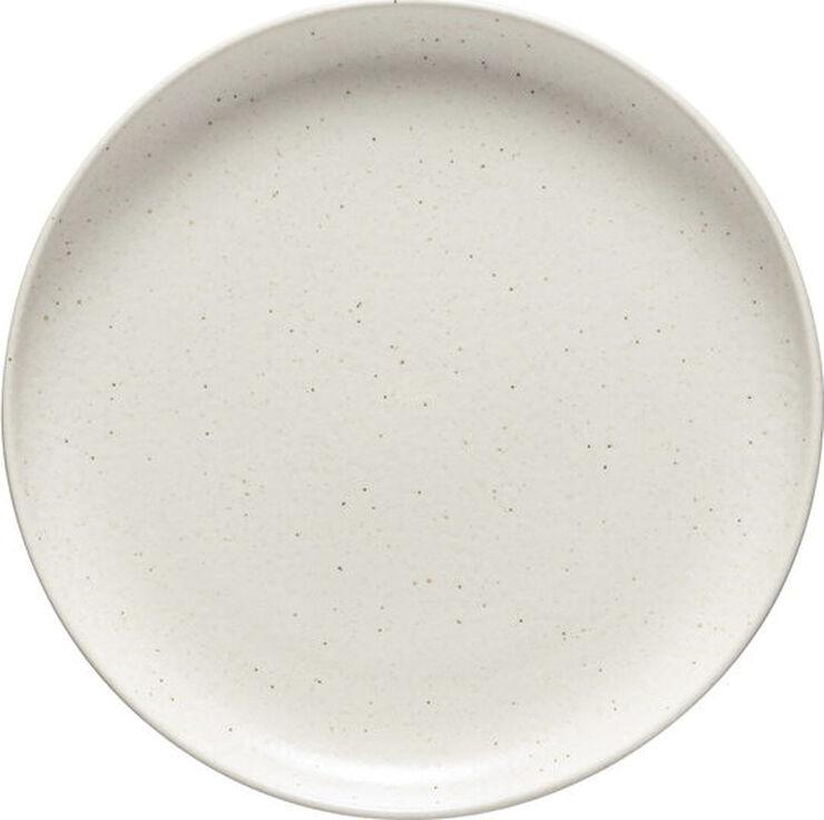 Tallerken flat Pacifica 23 cm Vanilla Keramikk