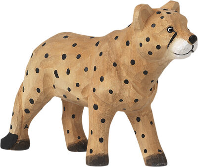 Animal Hand-carved Cheetah