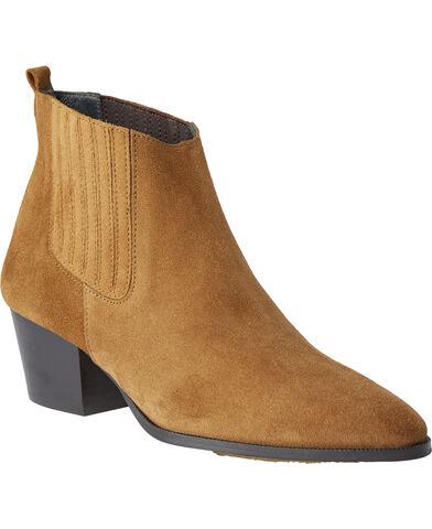 Støvle med hæl