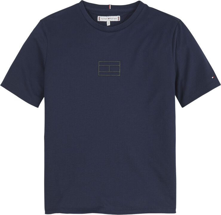TOMMY REFLECTIVE PRINT TEE S/S
