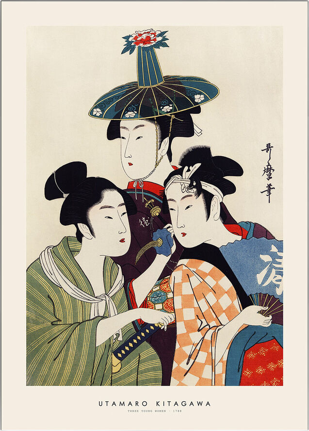 utamaro-kitagawa-three-young-women