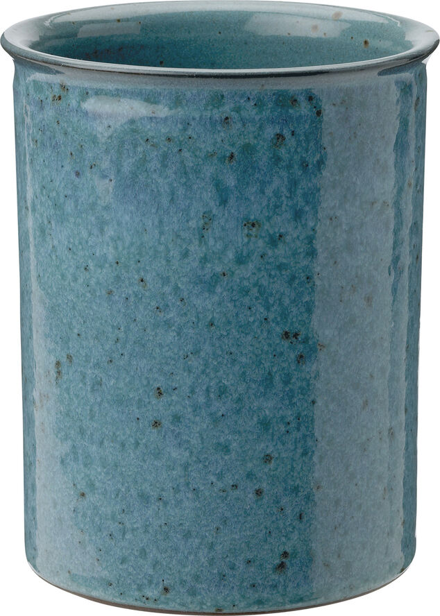 Redskapsförvaring, dammig blå, H 15, Ø12 cm