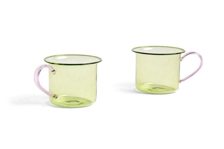 Borosilicate Cup Set of 2