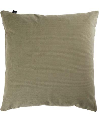 Corduroy velvet green 47x47 cm.