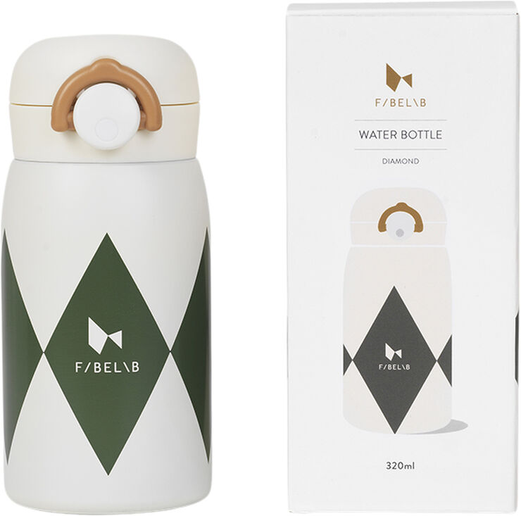 Water bottle - Diamond - Olive