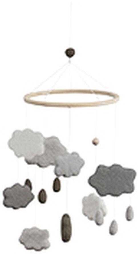 Uro i filt, skyer, warm grey