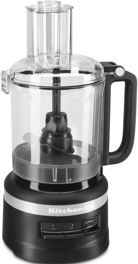 9 Cup foodprocessor matt svart 2,1 liter B19,5cm H