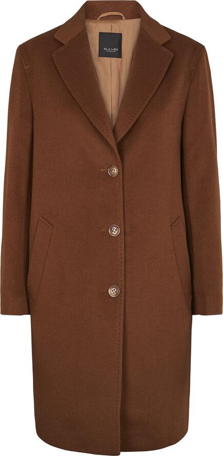 Cashmere Coat W - Ecre