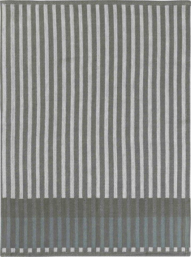 Grain Jacquard Tea Towel - Green