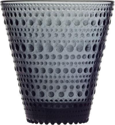 Kastehelmi 30cl glas mørkegrå 2stk