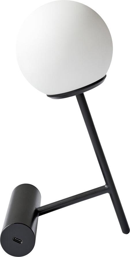 Phare LED Lamp, Black