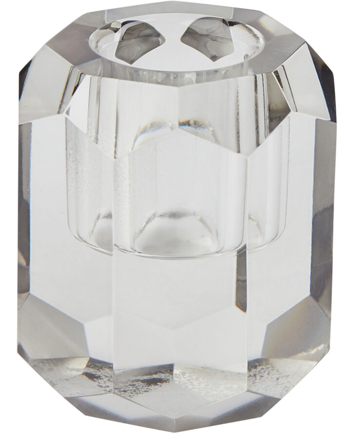 Lysestage 5x5x7 cm Light grey