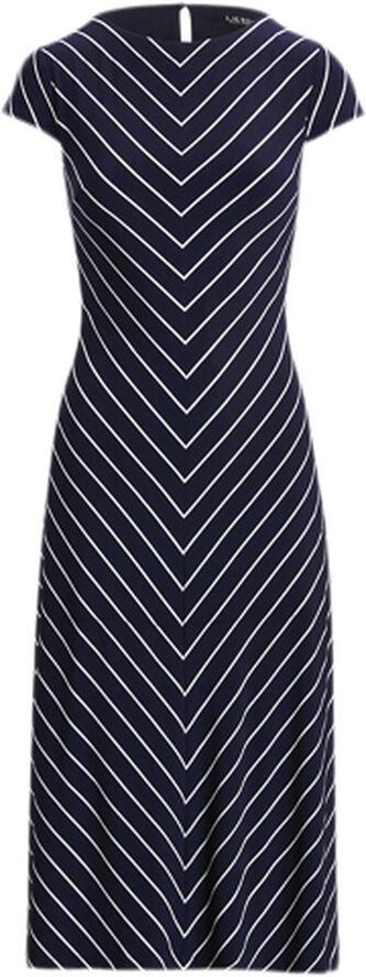 PRINTED MATTE JRSY-DRESS