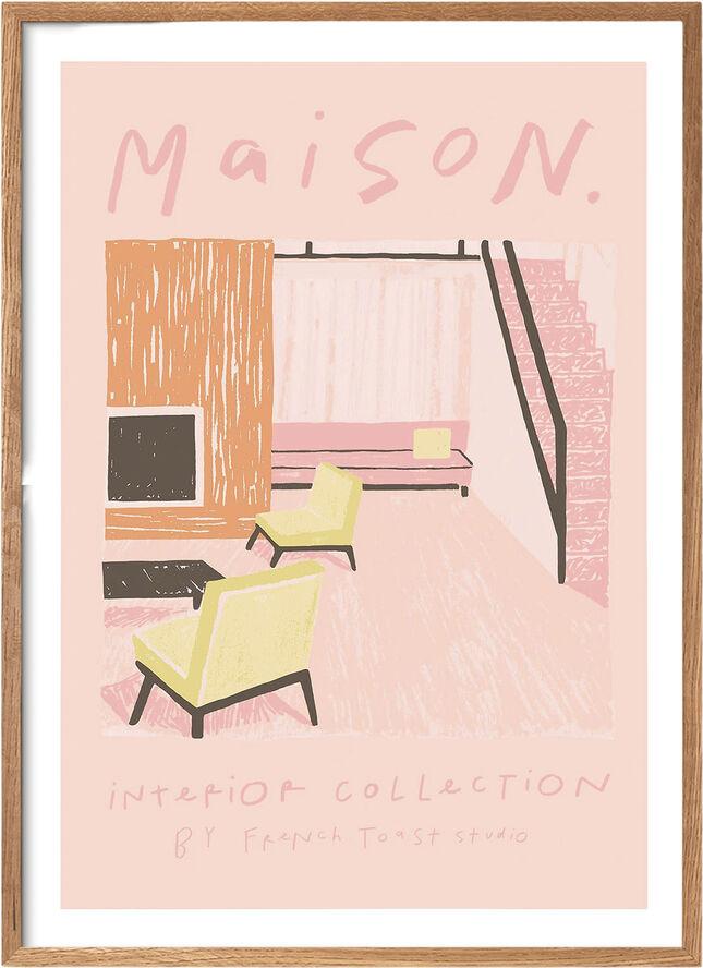Pink Room - 30 x 40 cm