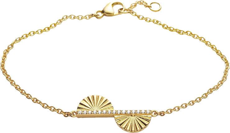 Fan Leaf Bracelet